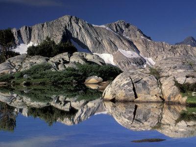High Sierra Landscape, Kings Canyon National Park, California, USA
