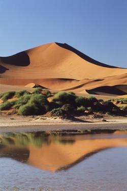 Namibia, Sossusvlei Region, Sand Dunes by Gavriel Jecan