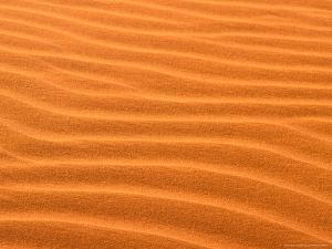 Sand Dune Patterns, Uluru-Tjuta National Park, Oceana, Australia by Gavriel Jecan