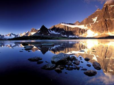 The Ramparts, Tanquin Valley, Jasper National Park, Alberta, Canada by Gavriel Jecan