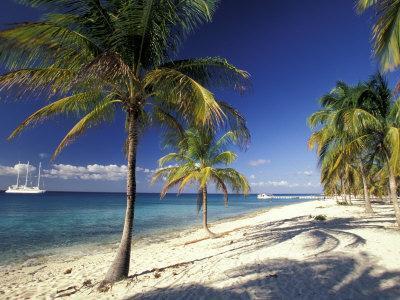 Tropical Beach on Isla de la Juventud, Cuba