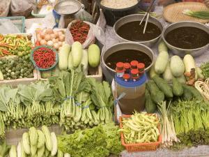 Vegetable and Food, Khon Kaen, Thailand by Gavriel Jecan
