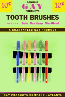 Gay Tooth Brushes