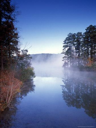 Morning on a Quiet Lake, Arkansas, USA