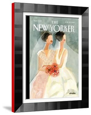 The New Yorker Cover - June 25, 2012 by Gayle Kabaker