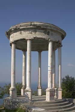 Gazebo Overlooking the Black Sea, Yalta, Crimea, Ukraine