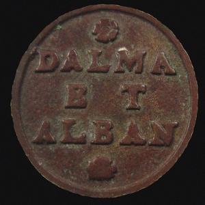 Gazzetta: Dalmatia & Albania, 2 Soldo, Republic of Venice. (Reverse) , 1684