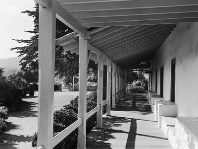 Porch of the Old Custom House