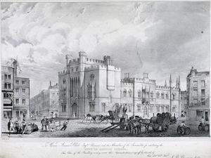 City of London School, London, 1835 by GE Madeley