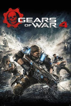 Gears Of War- 4 Game Cover
