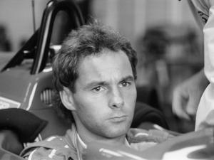Gehard Berger with Ferrari, 1988