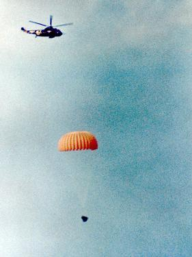 Gemini 11 (12-15 September 1966) : Spacecraft Coming Back on Earth Is Going to Land on Water