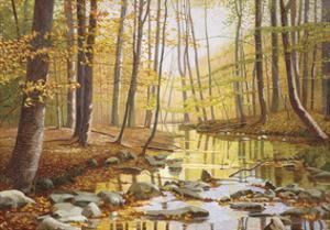 Golden Flow by Gene Mcinerney