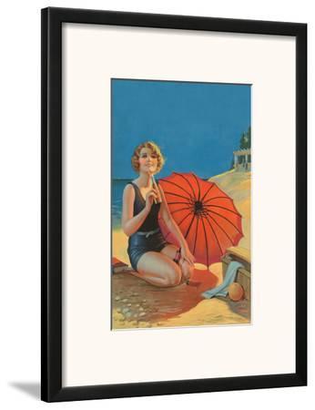 Inviting, Pin Up Girl c.1925