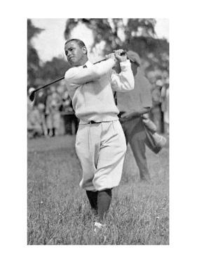Gene Sarazen, The American Golfer January 1931