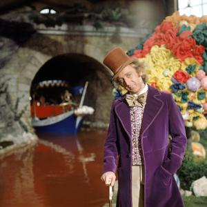 "Gene Wilder. ""Willy Wonka and the Chocolate Factory"" [1971], Directed by Mel Stuart."