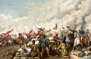 General Andrew Jackson's Victory over the British at New Orleans, c.1815