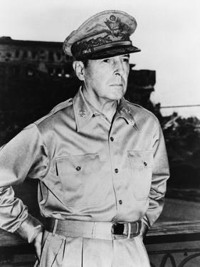 General Douglas Macarthur in the Last Days of World War 2, August 24. 1945