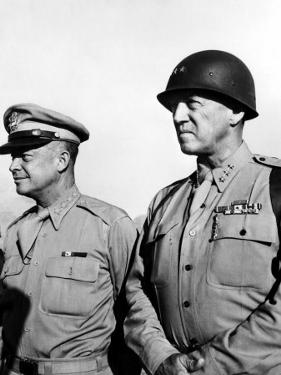 General Dwight Eisenhower, General George Patton, 1940's