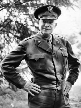 General Dwight Eisenhower, Supreme Commander, Allied Forces During World War II