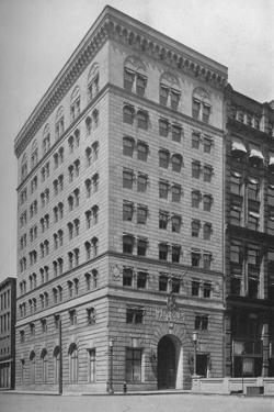 General exterior view, offices of the Brotherhood of Railroad Trainmen, Cleveland, Ohio, 1923