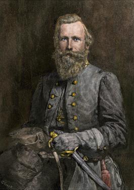General J.E.B. Stuart, Confederate Cavalry Commander