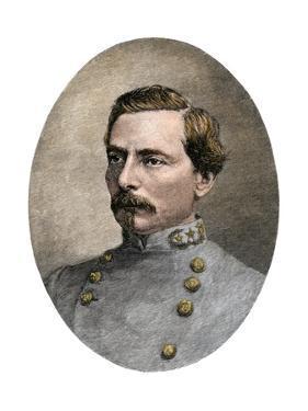 General P.G.T. Beauregard in His Confederate Uniform, 1865