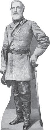General Robert E. Lee Lifesize Standup