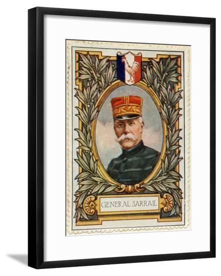 General Sarrail, Stamp--Framed Giclee Print