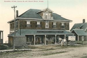 General Store, Ocean Bluff, Brank Rock