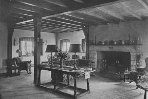 General view of lounge, Oakland Golf Club, Bayside, New York, 1923