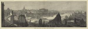 General View of the Ruins after the Great Fire at Boston