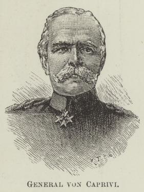 General Von Caprivi
