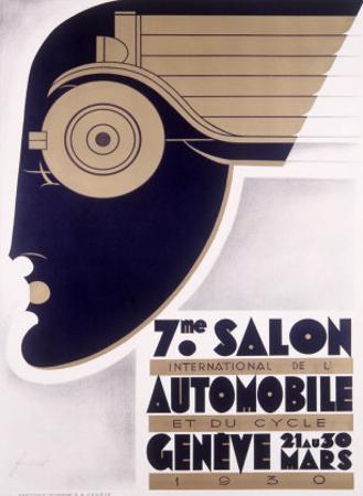 Geneva Auto Show, c.1930