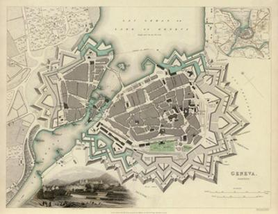 Geneva, Switzerland, c.1841