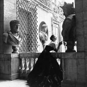 Evening Dress, Roma, 1952 by Genevieve Naylor