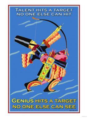 Genius Hits a Target