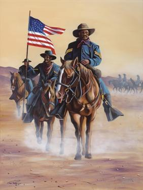 Buffalo Soldiers by Geno Peoples