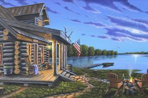 Lakeside Retreat by Geno Peoples