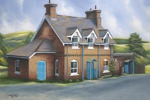 Old Burghclere Station by Geno Peoples