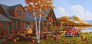 The Pleasures Of Fall by Geno Peoples