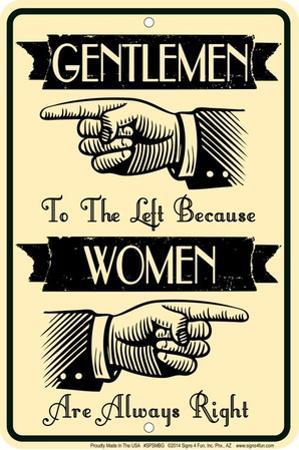 Gentlemen Left