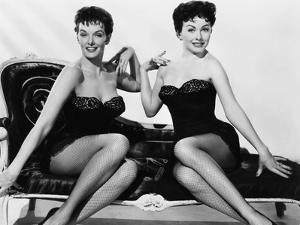 Gentlemen Marry Brunettes, from Left, Jane Russell, Jeanne Crain, 1955