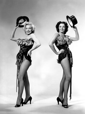 Gentlemen Prefer Blondes, Howard Hawks, Marilyn Monroe, Jane Russell, 1953