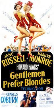 Gentlemen Prefer Blondes, Jane Russell, Marilyn Monroe, 1953