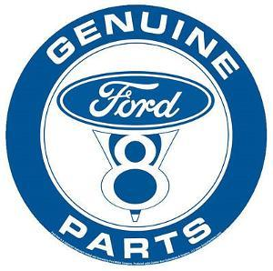 Genuine Ford Parts V-8 Round