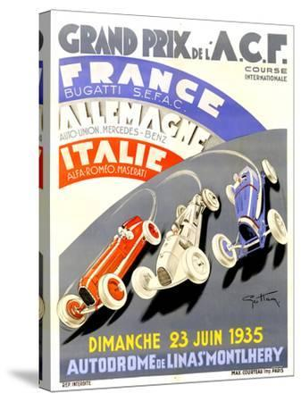 1935 French Grand Prix Race Poster by Geo Ham