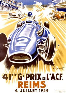 41st Grand Prix of the Automobile Club de France, Reims by Geo Ham