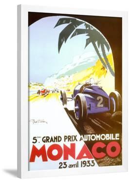 5th Grand Prix Automobile, Monaco, 1933 by Geo Ham