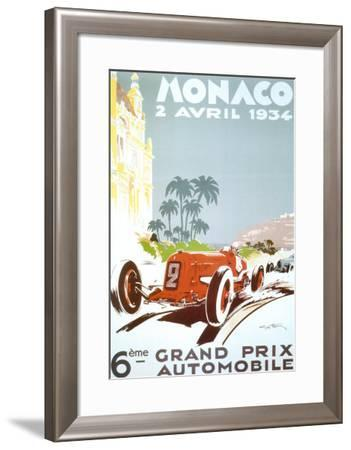6th Grand Prix Automobile, Monaco, 1934 by Geo Ham